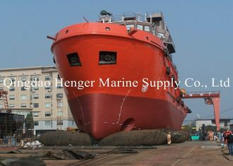 Natural Rubber Marine Launch Airbag Salvage Cargo Airbag Long Life And Durable