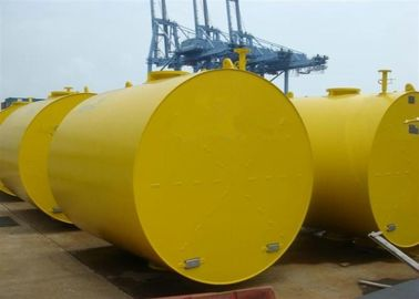 Foam Filled Marine Cylindrical Steel Mooring Buoy With High Toughness