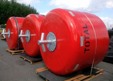 Colorful Ship Mooring Buoys Marine Navigation Buoys With Exterior Polyurea Coating