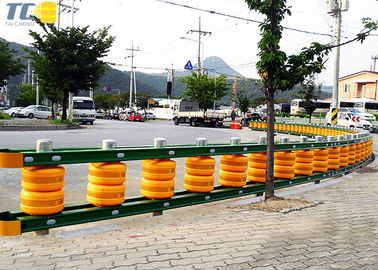 Energy Absorbing Diameter 370mm Roller Road Barrier