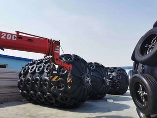 0.16Mpa Rescue Inflatable Rubber Marine Salvage Airbags