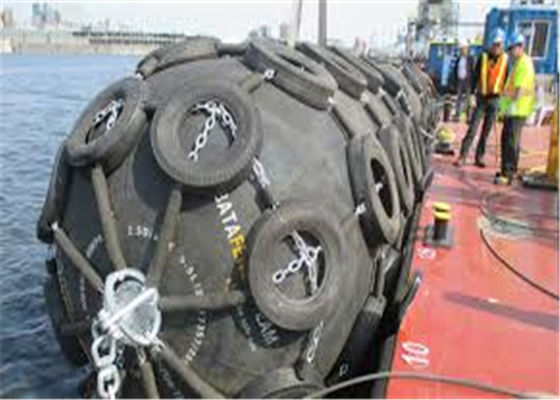 9m 50kPa Floating Rubber Pneumatic Marine Fender